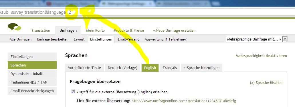 Mehrsprachige Umfragen erstellen – Umfrage Online Blog